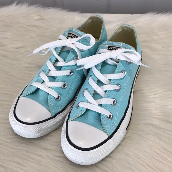 88b2739c28e6 Converse Shoes - NWOT Light Blue Converse All Star Chuck Taylors